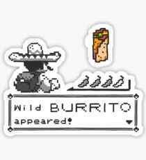 Wild Burrito appeared Sticker