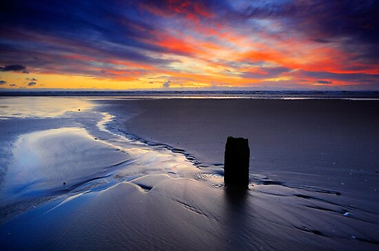 Red Sky at Morning by James Coard
