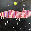 Space Cat by Sienna M. by CreativeClayArt