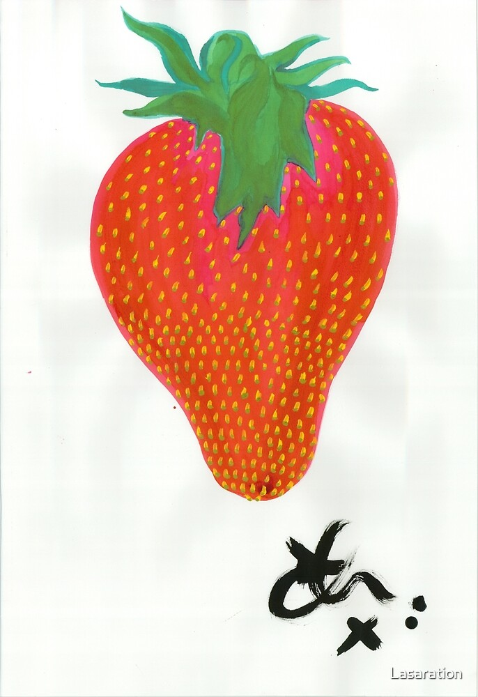 Strawberry 1 by Lasaration