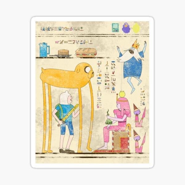 Hero-Glyphics: Adventure Time Sticker
