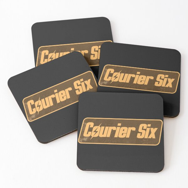 Courier Six Tag | Fallout New Vegas Protagonist Symbol Coasters (Set of 4)