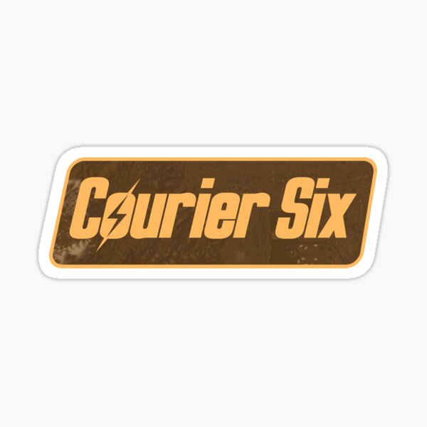 Courier Six Tag | Fallout New Vegas Protagonist Symbol Sticker