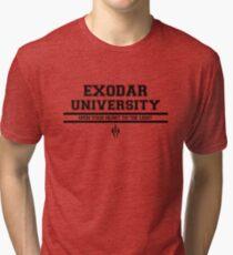 Exodar University Tri-blend T-Shirt