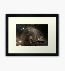 Civic Park Newcastle Framed Print
