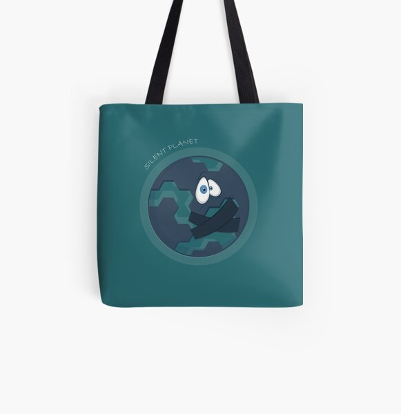 Silent planet All Over Print Tote Bag