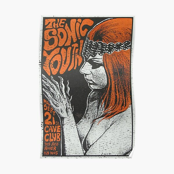 Sonic Youth 1987 Poster