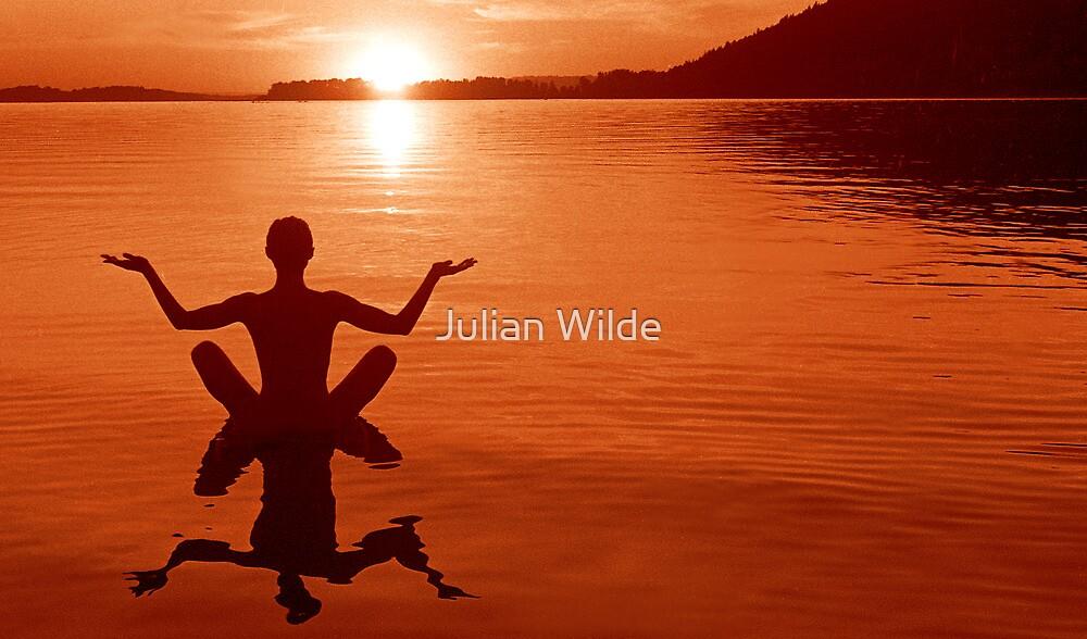 Columbia and the Setting Sun by Julian Wilde