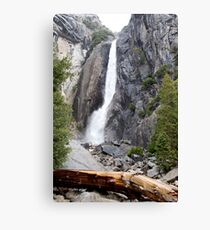 Yosemite Waterfall, Yosemite National Park Canvas Print