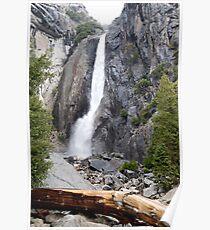 Yosemite Waterfall, Yosemite National Park Poster