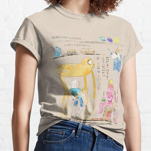 Hero-Glyphics: Adventure Time Classic T-Shirt