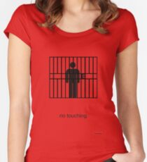 Arrested Development No Touching Women's Fitted Scoop T-Shirt