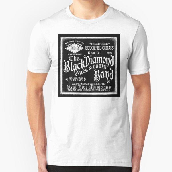 Black Diamond (black image) Slim Fit T-Shirt
