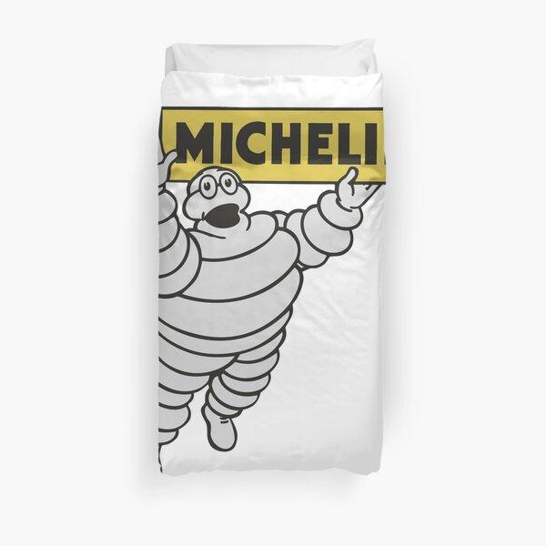 Michelin - Vintage Bibendum Advert Duvet Cover