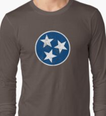 Tennessee State Flag T-shirt Long Sleeve T-Shirt