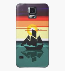 The Black Vector | Pirate Ship Case/Skin for Samsung Galaxy
