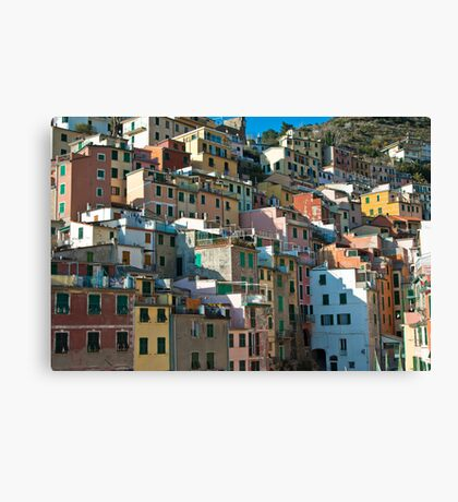 Rio Maggiore, Cinque Terre Canvas Print