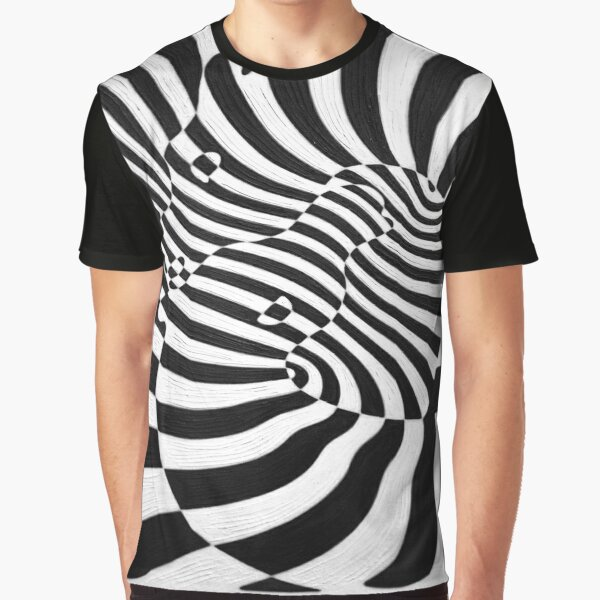 Zebras by Victor Vasarely Graphic T-Shirt