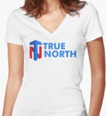 True North Fitted V-Neck T-Shirt