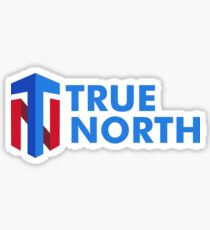True North Glossy Sticker