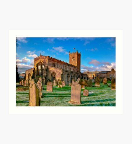 St Oswald's Church - Asgrigg  (HDR) Art Print