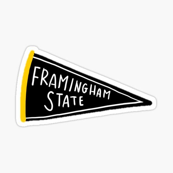 Framingham State Pennant Sticker