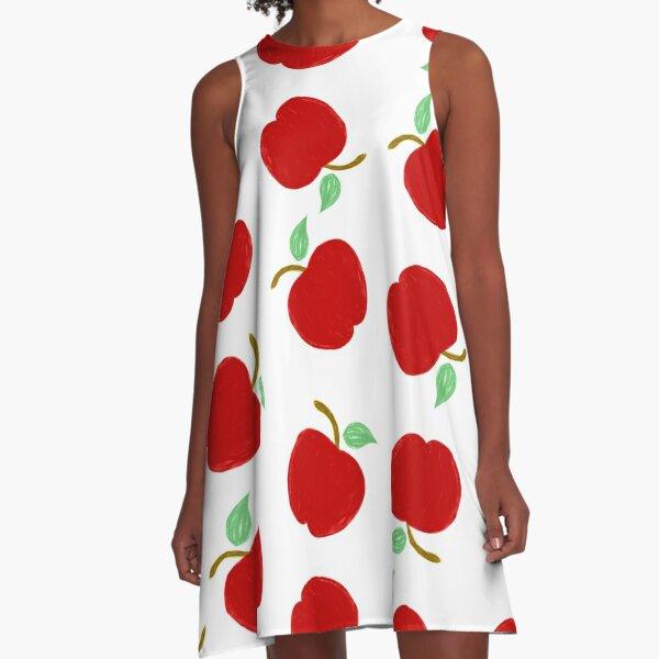 Cute Apples A-Line Dress