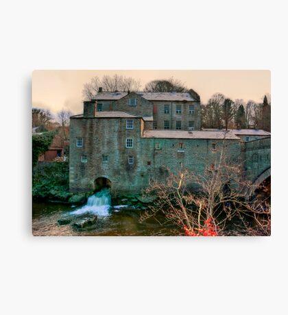 Yore Mill - Aysgarth Yorks Dales Canvas Print