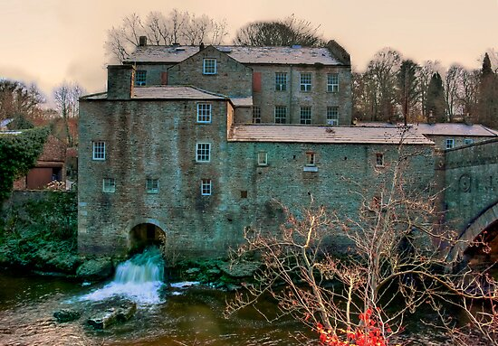 Yore Mill - Aysgarth Yorks Dales by Trevor Kersley