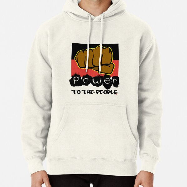 Power to the People [-0-] Pullover Hoodie
