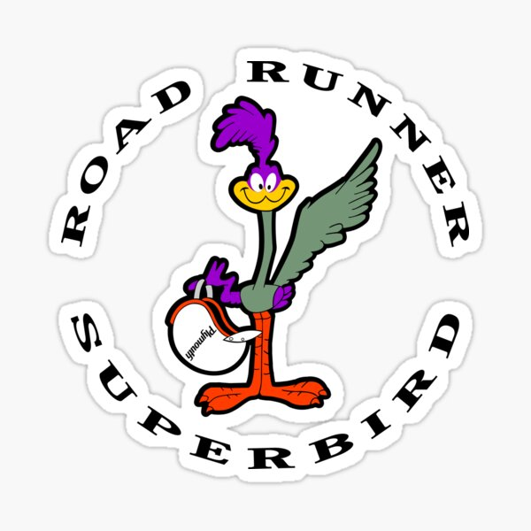 Super Bird Sticker
