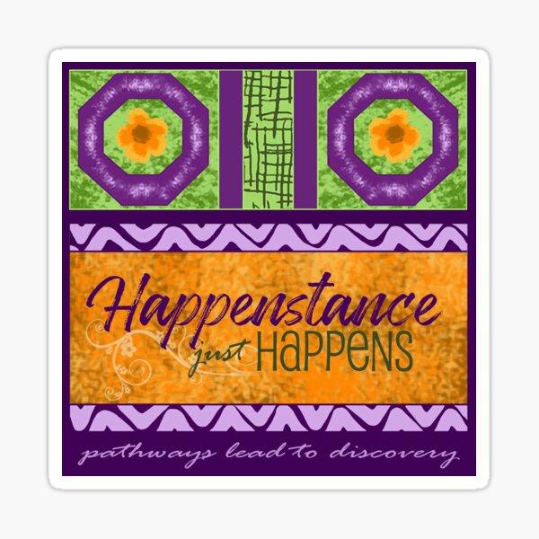 Happenstance Sticker
