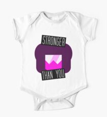 Stronger Than You Garnet One Piece - Short Sleeve