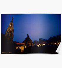 Christkindles-Market in Nuremberg Poster
