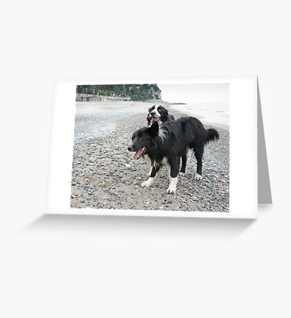 Together on the Beach Greeting Card