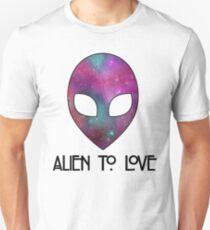 Alien to Love - PURPLE Unisex T-Shirt