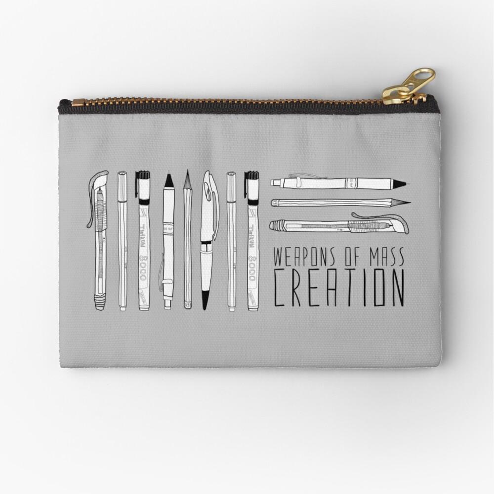 Weapons Of Mass Creation Zipper Pouch