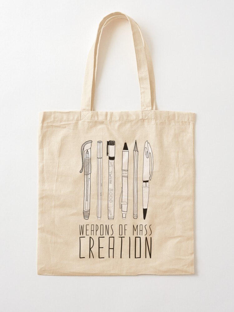 Alternate view of Weapons Of Mass Creation Tote Bag