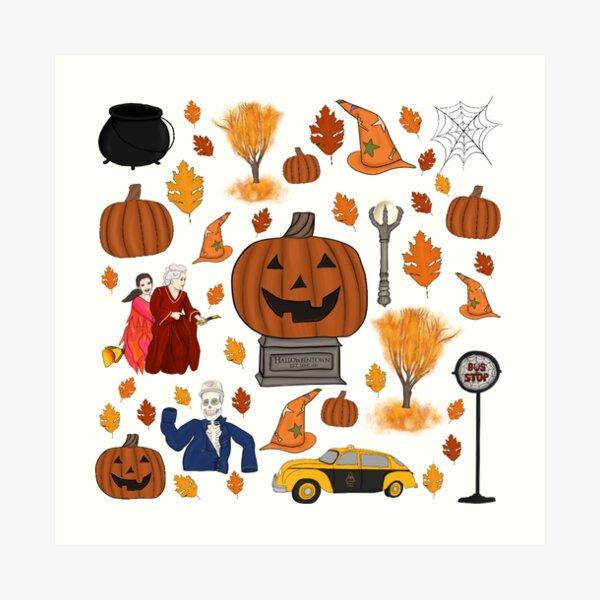Halloweentown Est. Long Ago Art Print