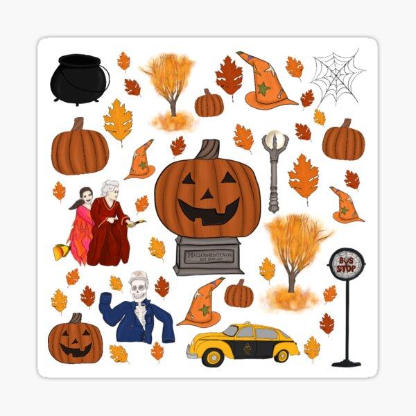 Halloweentown Est. Long Ago Sticker