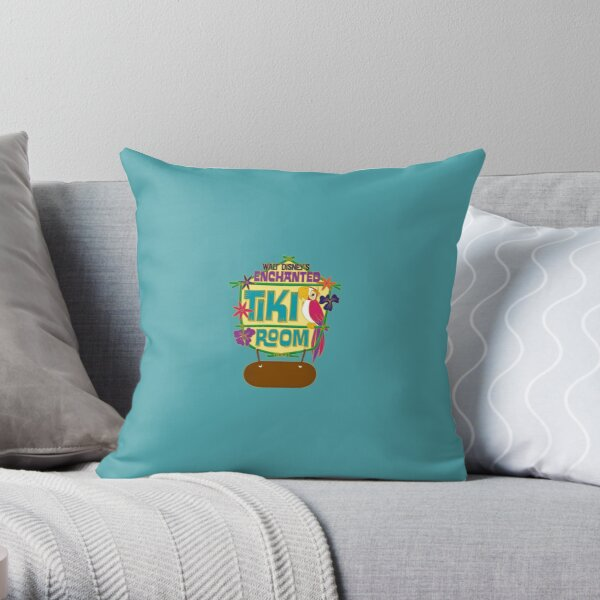 Walt Disney's Enchanted Tiki Room Throw Pillow