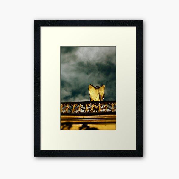 Wings of desire - Tribute to Wim Wenders Framed Art Print