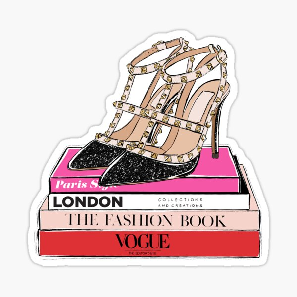 fashion shoes Sticker