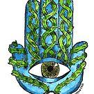 Thorny Hamsa by Mark Bodhisattva Hill