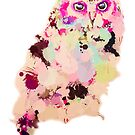Paint Spot Owl by Kellie Raines