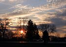Sunset in the Suburbs by MarjorieB