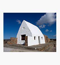 La Maison Blanc, St Ouen's Beach, Jersey, Channel Islands, United Kingdom Photographic Print