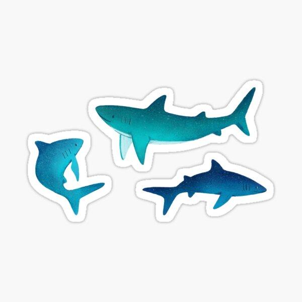 Sharks Sticker Pack Sticker