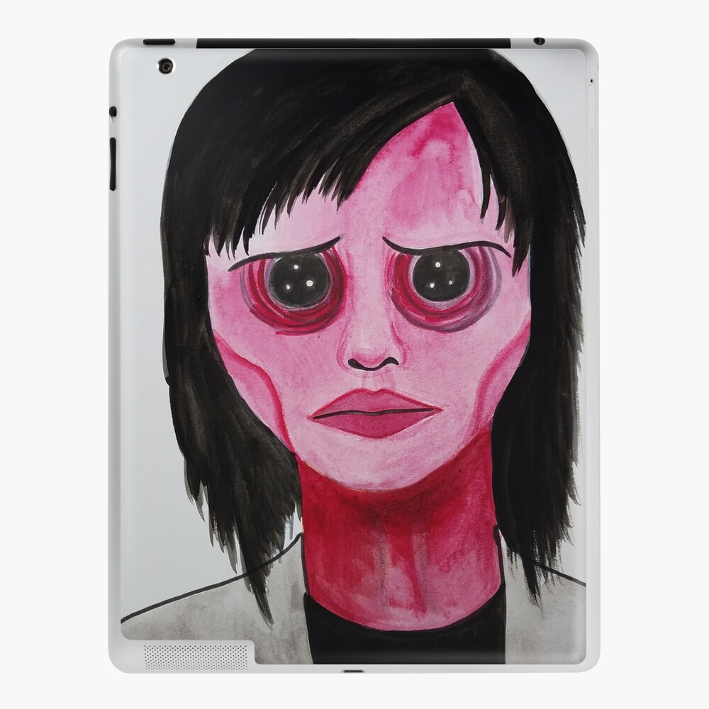 Coraline Girl With Button Eyes Ipad Case Skin By Artbymeganbrock Redbubble