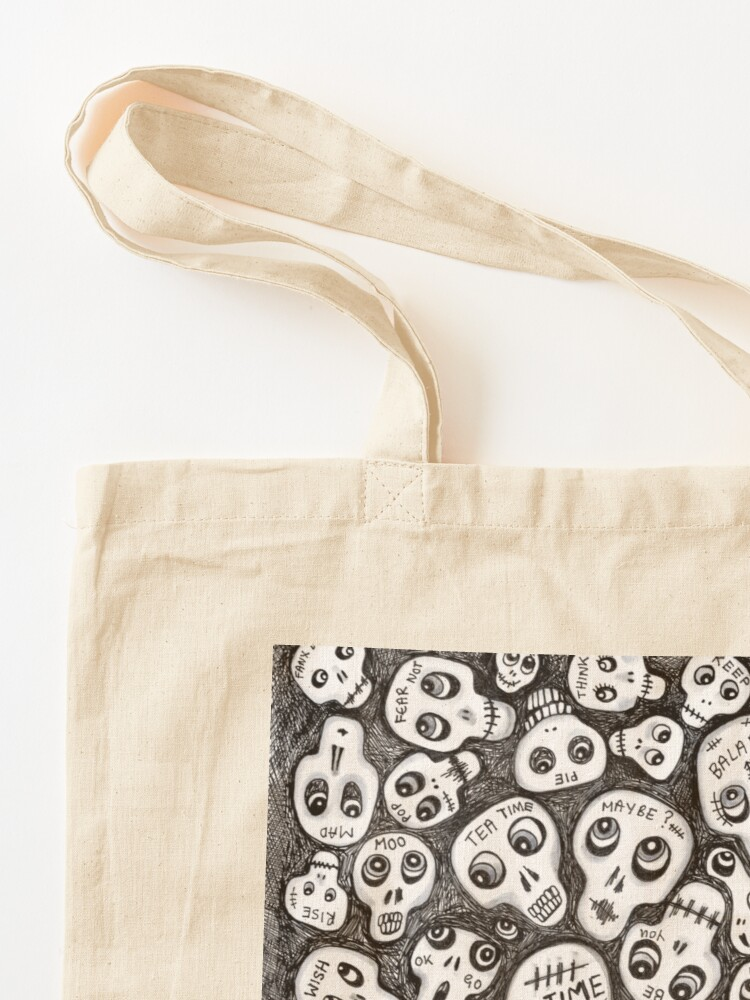 Alternate view of The Skull People Tote Bag